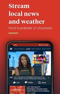 Haystack News: Local & World TV News Screenshot