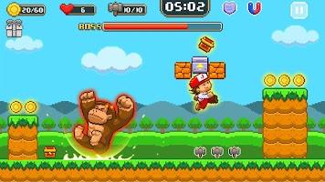 Super Jim Jump - pixel 3d