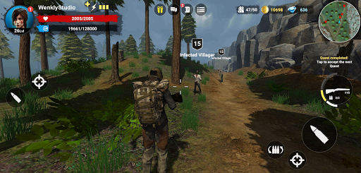 HF3: MMO RPG Online Zombie Survival 1.2.5 screenshots 1