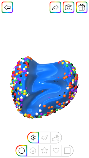 Virtual Slime - Super Satisfying Slime Simulator  screenshots 1