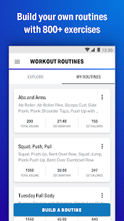Training mit MapMyFitness Screenshot
