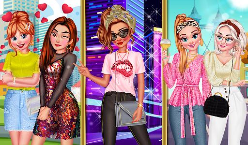 super stylist dress up: New Makeup games for girls Apkfinish screenshots 5