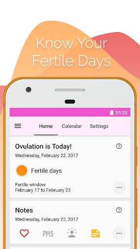 Period and Ovulation Tracker  Screenshots 5