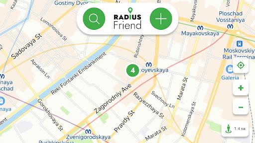 RadiusFriend screenshot 3