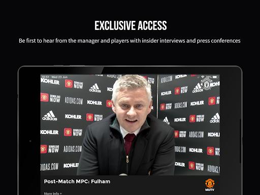 MUTV u2013 Manchester United TV screenshots 10