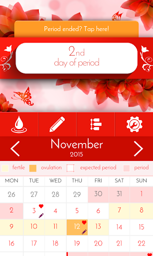 Period Tracker & Diary  Screenshots 1