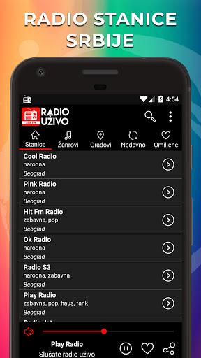 Radio Uzivo Srbija - Radio Stanice Srbije  screenshots 1
