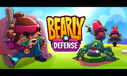 Télécharger Gratuit Bearly a Defense - Tower Defense e Estratégia  APK MOD (Astuce) screenshots 1