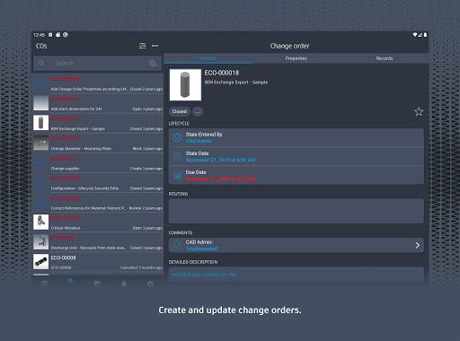 Autodesk Vault Mobile screenshots 14