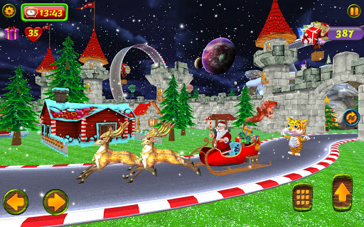 Santa Christmas Infinite Track screenshots 17
