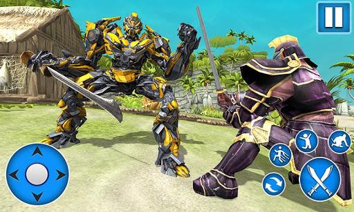 Télécharger Sword Robot Fighting Game: Sword Robot Hero mod apk screenshots 1
