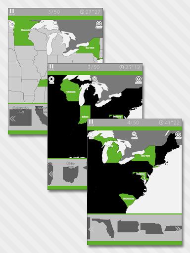 Enjoy Learning U.S. Map Puzzle 3.2.3 screenshots 7