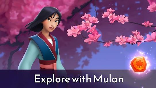 Disney Princess Majestic Quest: Match 3 & Decorate APK, Disney Princess Majestic Quest Mod Apk ***NEW 2021*** 2