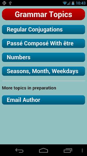 French Verbs  screenshots 6