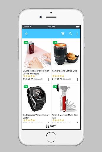 groot :: gadget shop screenshot 3
