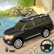 Real Offroad Prado Driving Games: Mountain Climb
