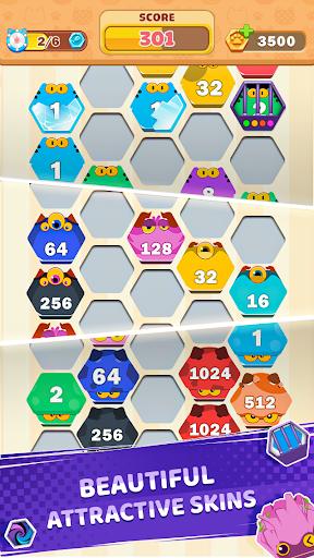 Cat Cell Connect - Merge Number Hexa Blocks 1.3.4 screenshots 4