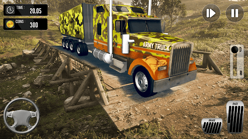 Army Truck Driving Simulator Game-Truck Games 2021 android2mod screenshots 4