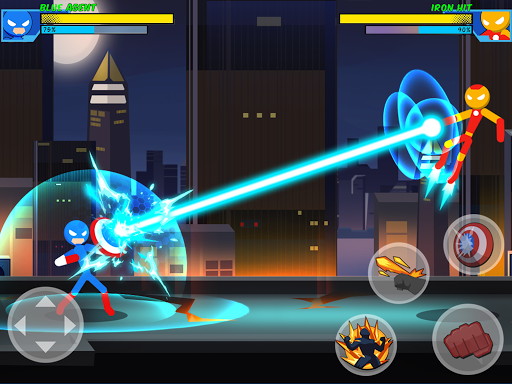 Stick Super: Hero - Strike Fight for heroes legend  screenshots 7
