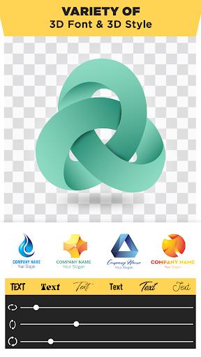 3D Logo Maker: Create 3D Logo and 3D Design Free 1.2.8 Screenshots 2