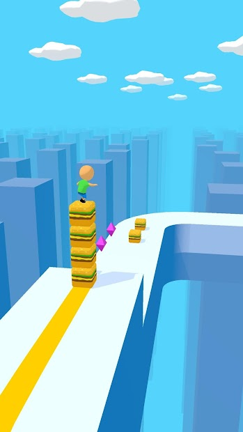 Cube Surfer! Android App Screenshot