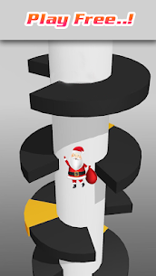 Reverse Helixx Jump :Santa Jump(Christmas Special) Hack for Android and iOS 4
