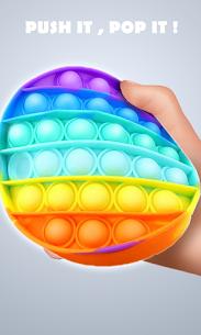 Pop It Sensory Fidget cube toys 3d Anxiety Relief 5