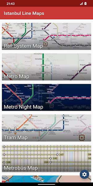 Metro Map: Istanbul (Offline)