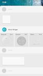 screenshot of Moto Widget