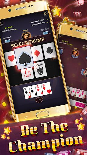 29 Card Game ( twenty nine ) Offline 2020 5.32 screenshots 7