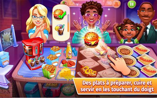 Cooking Craze - L'aventure culinaire ultime APK MOD – Monnaie Illimitées (Astuce) screenshots hack proof 1