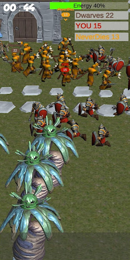 Télécharger Crowd Medieval City War APK MOD (Astuce) screenshots 2