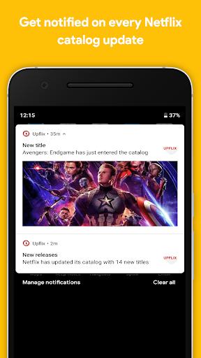 Upflix - All Netflix Updates  screenshots 2
