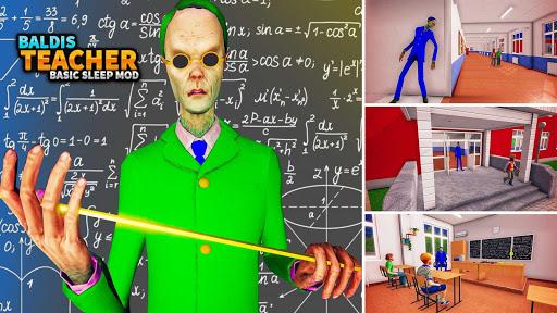 Baldi's Math Crazy Teacher:Basic Classic Party Mod  screenshots 5