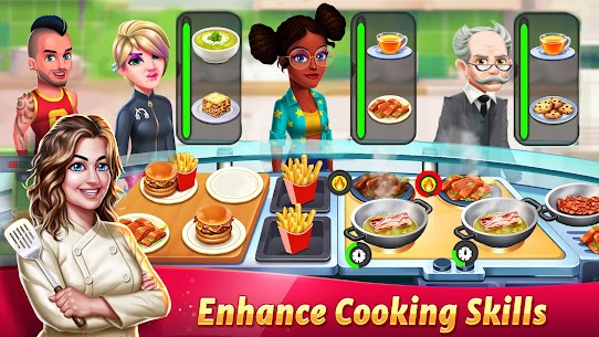 Tasty Cooking Cafe & Restaurant Game: Star Chef 2 4