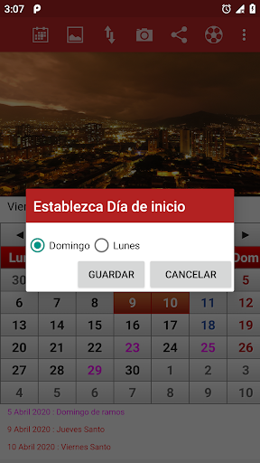 colombia calendario 2020 screenshot 3