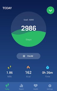 Step Counter – Pedometer Free & Calorie Counter 1