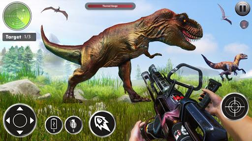 Wild Dinosaur Hunting 3D- Dino Hunter Game Offline  screenshots 1
