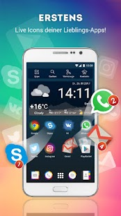Launcher Live-Symbole Android Screenshot