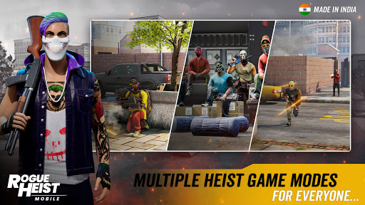 MPL Rogue Heist - India's 1st Shooter Game poster