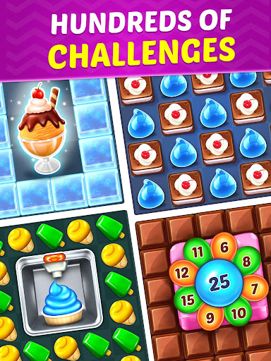 Ice Cream Paradise - Match 3 Puzzle Adventure 2.7.5 screenshots 13