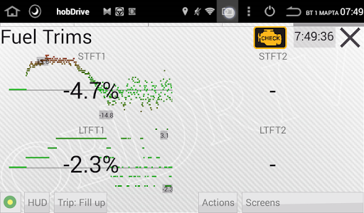 HobDrive OBD2 ELM327, car diagnostics, trip comp 1.6.12 Screenshots 11