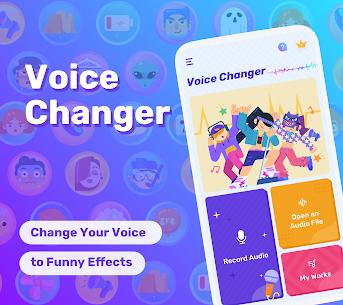Free Voice Changer – Sound Effects & Voice Effects (MOD APK, Pro) v1.02.38.0728.1 1