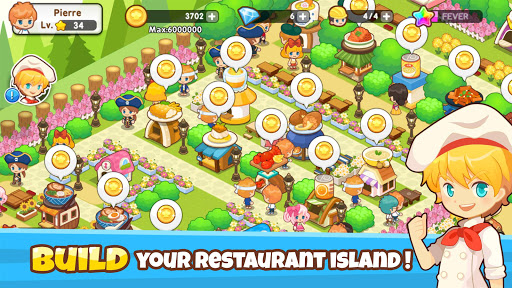Restaurant Paradise: Sim Builder 1.11.1 Screenshots 1