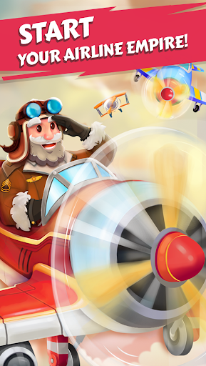 Merge Planes - Best Idle Relaxing Game apk  screenshots 1