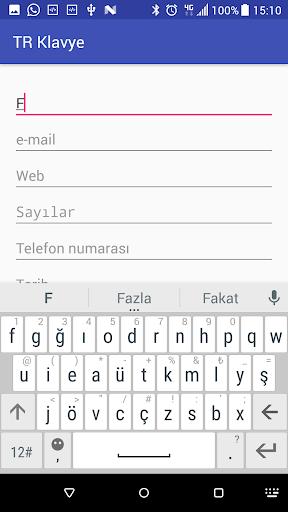 Turkish Keyboard 6.9.0 Screenshots 6