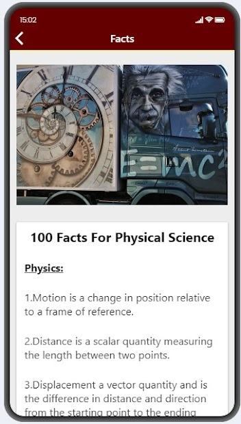 Physics Facts screenshot 6