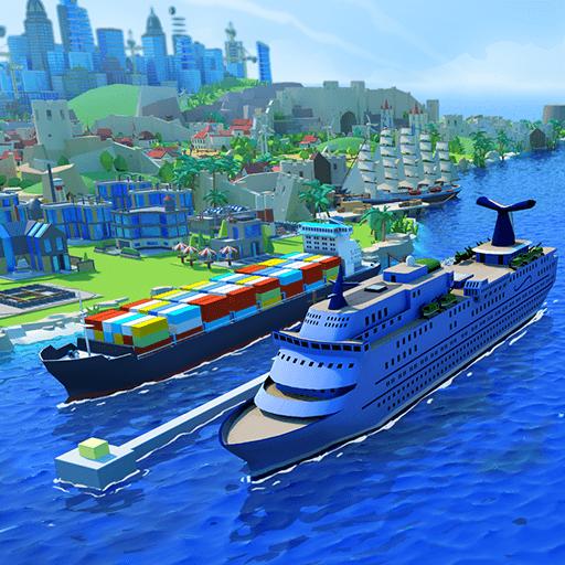 Sea Port: Symulator Strategii, Buduj i Wysyłaj