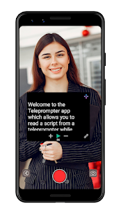 Teleprompter with Video & Audio