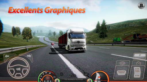 Code Triche Simulateur de Camion : Europe 2 (Astuce) APK MOD screenshots 1